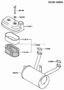 Kawasaki Fd590v Parts List And Diagram