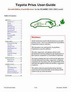 Motor Manual Download  2001