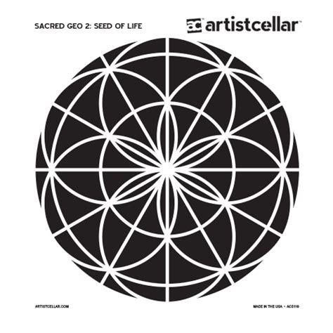 sacred geometry  series stencils artistcellar