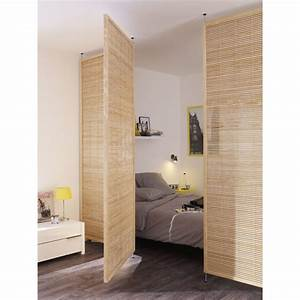 les 25 meilleures idees concernant cloison amovible With meuble pour separation de piece 6 une separation de style loft pour la chambre leroy merlin
