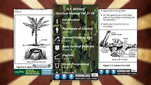 Survival Guide Puts The Us Military Survival Manual In