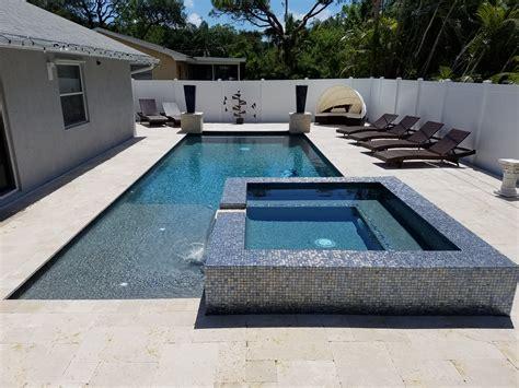 palm beach gardens modern pool spa custom swimming