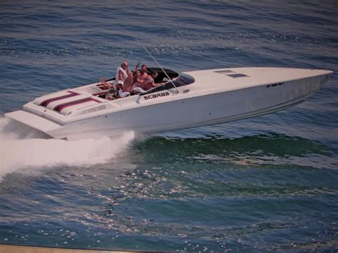 Miami Vice Scarab Canvas by 1991 Wellcraft Scarab Powerboat For Sale In Michigan