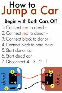 How To Use Jumper Cables Free Printable