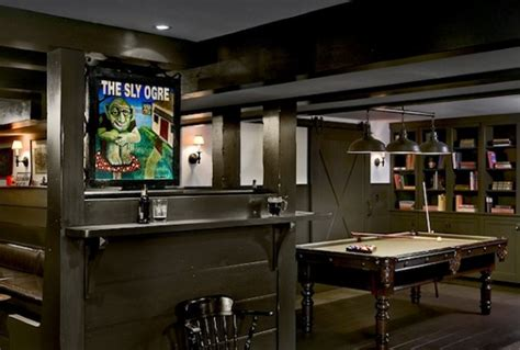 Man Cave With Living Quarters