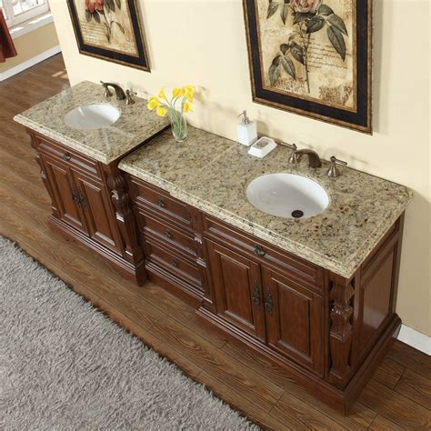 granite countertop with sink 90 quot venetian gold granite countertop bathroom vanity