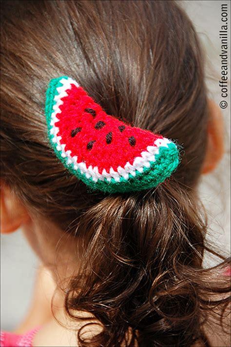 crochet hair band watermelon patterns to crochet 21 free patterns
