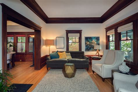 Craftsman Style Home Interior by Craftsman