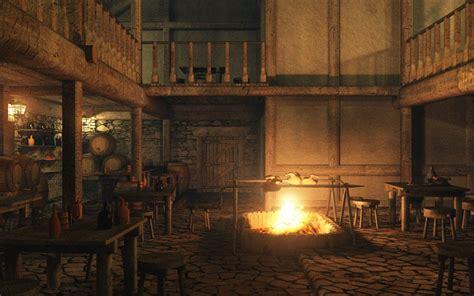 eon vue  model medieval tavern interior image