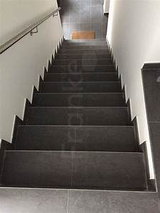 Treppe Fliesen Mit Schiene Anleitung : topcollection leo black bodenfliese anthrazit 30x60 cm ~ A.2002-acura-tl-radio.info Haus und Dekorationen