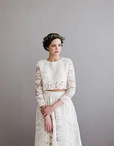 Robe De Mariée Originale : robe de mari e dentelle originale 30 robes de mari e en ~ Nature-et-papiers.com Idées de Décoration