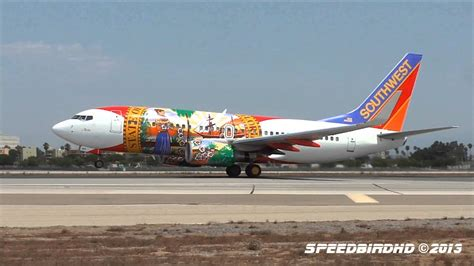 Flo Rida One southwest airlines florida one boeing 737 7h4 n945wn