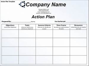sample project action plan template in excel With what is an action plan template