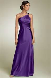 one shoulder bridesmaid dresses gorgeous one shoulder purple bridesmaid dresses cherry