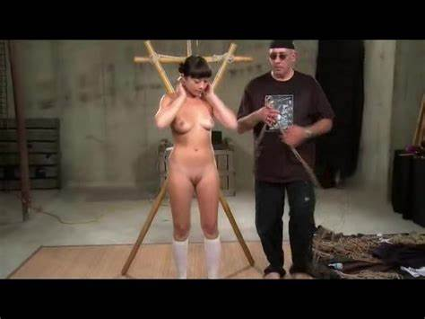 Dark Is Flogged Then Toyed To Creampied