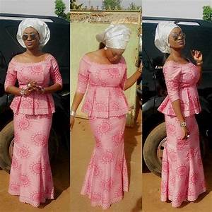 9 Amazing Nigerian Traditional Skirt and Blouse Styles. | Amillionstyles.com