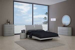 Moonlight bedroom set gray creative furniture for Creative bedroom furniture