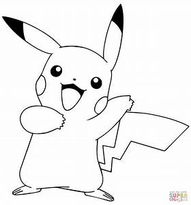 pokemon pikachu coloring pages to print coloring pages With pokemon templates print
