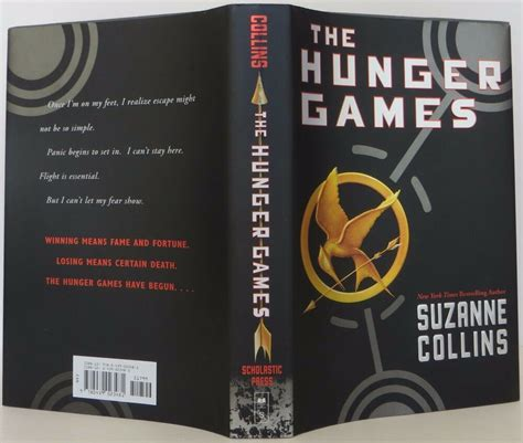 suzanne collins  hunger games signed  edition ebay