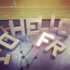 light up letters tutorial i heart this blog create With giant marquee letters hobby lobby
