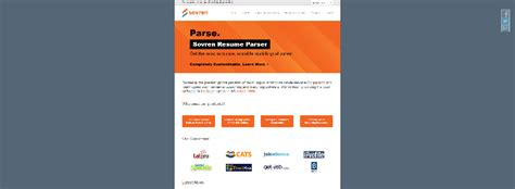hr software resume parser