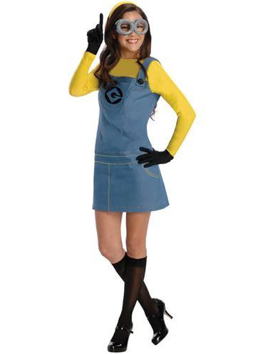 minion damen kostüm minion dave kost 252 m f 252 r damen ich einfach unverbesserlich funidelia