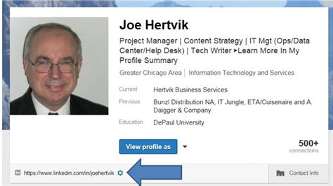 Creating a LinkedIn Profile URL That Fits on a Business ...