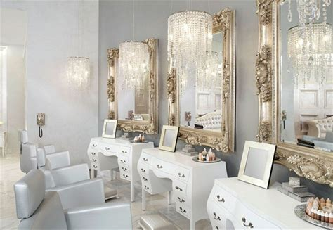 white  white salon decor  love nails magazine