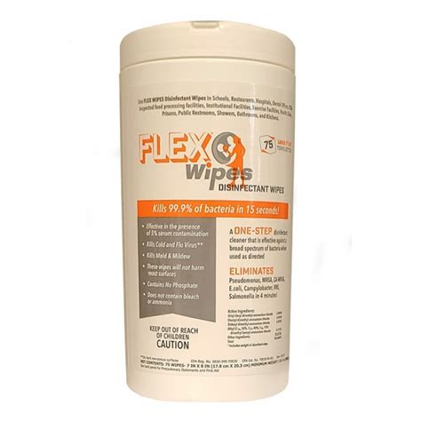 FLEXWIPES 75 Count Canister