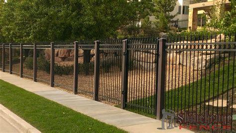 stonehenge iron fencing stonehenge fence deck