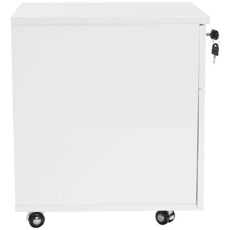 caisson bureau blanc laqué caisson de bureau floride en bois laqué blanc