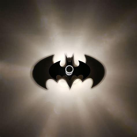 new animal bat wall l batman logo warm light e27 bulb kid bedroom decor