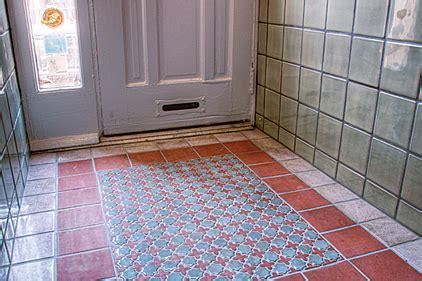 tile flooring quakertown pa handmade tile maintains historic look of vestibule 2012 07 02 world