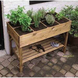Carré Potager Haut : carr potager haut gariguette carr de jardin achat vente ~ Carolinahurricanesstore.com Idées de Décoration