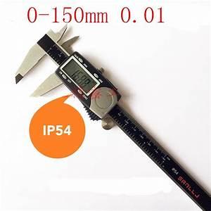 Japan Sanlin Micrometers Digital Caliper 150 Mm   0 01