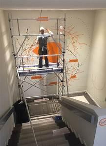 beautiful deco cage escalier interieur ideas With idee couleur escalier bois 2 escaliers design et contemporains idee deco et amenagement