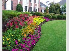 Options for Garden Flower Bed Ideas Landscaping