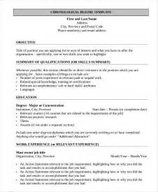Free Resume Documents by Resume For Template Gfyork