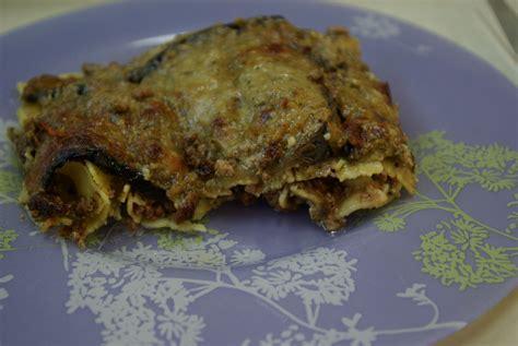 hervé cuisine lasagne lasagne aux aubergines et sa crème de fromage de chèvre au