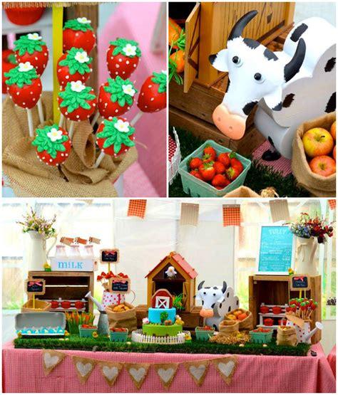 Kara's Party Ideas Farm + Barnyard Themed Birthday Party