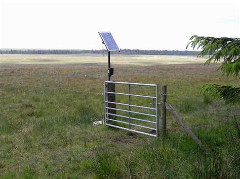 File Solar Powered Electric Fence Catcherside North