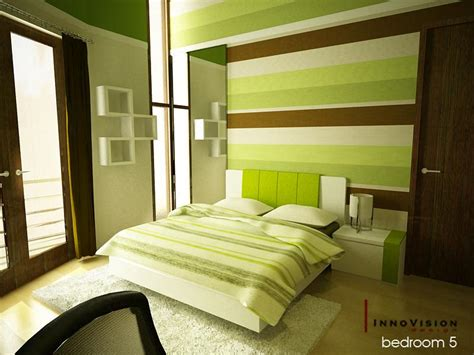 Design Ideas For Green Bedroom by Green Color Bedrooms Interior Design Ideas Interior