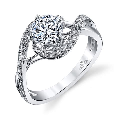 parade hemera bridal r3152 18 karat diamond engagement