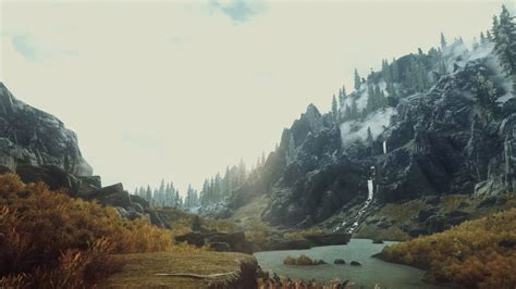 Video games nature screenshots The Elder Scrolls V: Skyrim