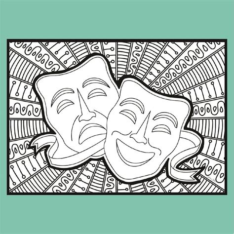 We have collected 38+ theatre coloring page images of various designs for you to color. Theatre Scenes - Coloring Pages   Coloring Broadway