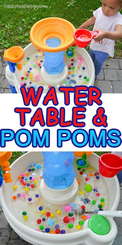 water table amp pom poms preschool stuff watertafels 888 | 5a5f147b9ed897cb0e1917e9d80a3105