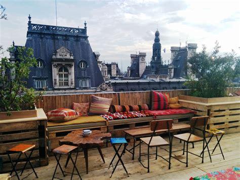 rooftop pop up le perchoir marais is back at bhv lo pa