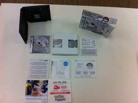 Jogo Nds 3ds 2ds Nintendo Ds Pokemon Soul Silver Completo