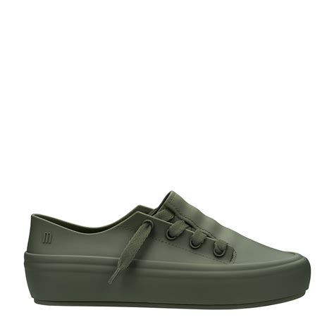 melissa ulitsa sneaker verde bege melissa menina shoes