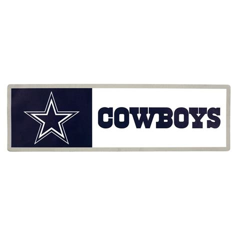 applied icon nfl dallas cowboys outdoor step graphic